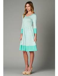 women s mint white striped dress trendy modest women s boutique amusing