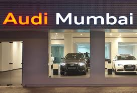 audi showroom india opens their 3rd showroom in mumbai 1st for 2013