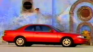 toyota camry two door 1993 commercial toyota camry coupe w martin sheen i