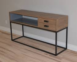 Modern Industrial Desk by Rust U0026 Rot