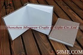 matted photo album fabric linen wedding slip in album matted photo album with inserts