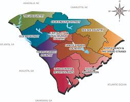 Map Of Charleston South Carolina Sc Tourism Regions Map For Jill Pinterest Tourism