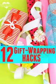 12 gift wrapping hacks pint sized treasures