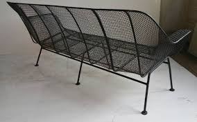 Metal Mesh Patio Furniture - russell woodard wire mesh sofa sculptura four seater at 1stdibs