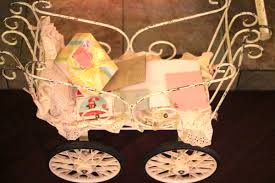 vintage baby buggy chocolate themed baby shower