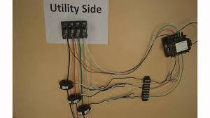 three phase electric wiring diagram components