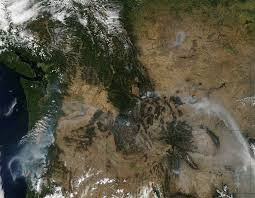 Wildfires In Oregon Map by Wildfires And Smoke In Oregon Natural Hazards