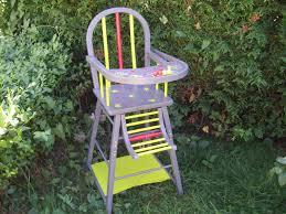 chaise haute b b en bois chaise haute bébé la déco de gégé