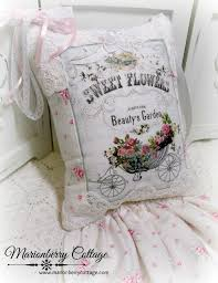 Shabby Chic Cushions by 262 Best Pretty Pillows Images On Pinterest Cushions Ruffles