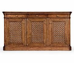 Walnut Sideboard Walnut Sideboard With Lattice Doors