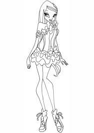 colouring pages for winx sirenix coloring pages winx club young