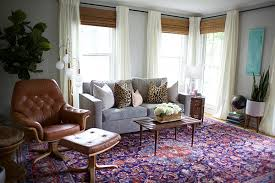 different window treatments to camouflage different windows