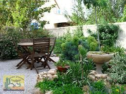 Amenagement Parterre Exterieur by Creation Jardin Mediterraneen