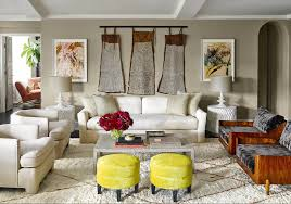 mid century modern eclectic living room hillary thomas hgtv