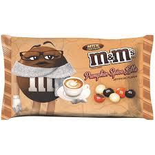 m u0026m u0027s get into the pumpkin spice latte game food u0026 wine