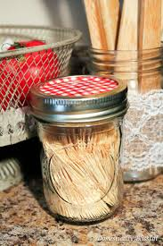 mason jar toothpick dispenser u2014 crafthubs