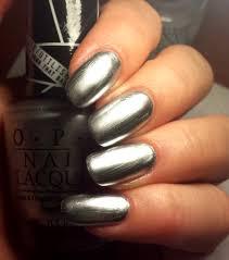 opi u201cpush and shove u201d chrome nail polish review nail art 101
