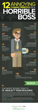 Bad Boss Meme - 12 characteristics of a horrible boss infographic huffpost