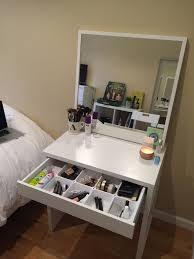 Makeup Organizer Desk by Bedroom Attractive Makeup Desks Multicolor Pattern For Terrific