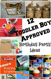 birthday boy ideas 12 toddler boy party ideas
