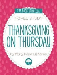 thanksgiving on thursday magic tree house by thebookumbrella tpt