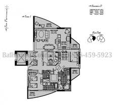 Parc Imperial Floor Plan The Parc At Turnberry Condo Aventura Miami Fl The Parc 19400