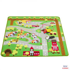 Kid Play Rug Play Car Rug Community Carpet Mat Regular 39 X 35