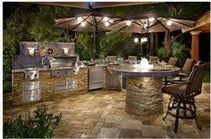 outdoor island kitchen 20 amazing outdoor kitchen ideas and designs kitchens kitchen