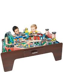 mountain rock train table imaginarium 105 piece mountain rock train table kids wish lists