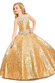 glitz pageant dresses aiduo big floor length sequins glitz pageant