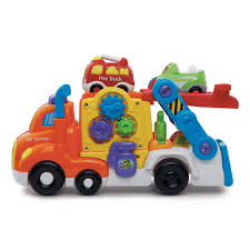 toddler toy car go go smart wheels deluxe car carrier english edition vtech