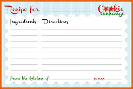 free recipe card templates apa examples
