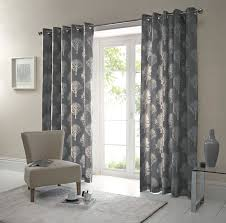 Eyelet Curtains Woodland Trees Modern Lined Eyelet Curtains Forest Ready Made Ring
