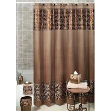 Green And Brown Shower Curtains Brown And Teal Shower Curtain Kolcovo