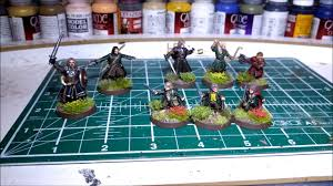 games workshop lord of the rings painting the fellowship of
