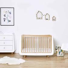 Nursery Furniture Set by Snuzkot Skandi 2 Piece Nursery Furniture Set In Natural U2013 Natural