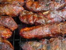 julie u0027s cafe texas style glazed bbq pork ribs