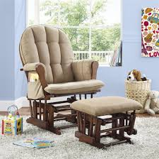 Dorel Rocking Chair Slipcover Dorel Living Glider Rocker With Ottoman Beige