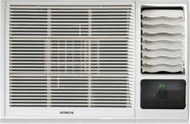 flipkart com buy hitachi 1 5 ton 3 star window ac white online