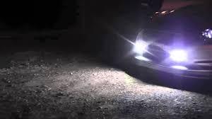 bright cob white led lights for drl fog driving l