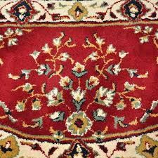 56 u0027 u0027 half round burgundy oriental fireplace rug northline express