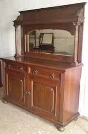 antique ornate buffet sideboard 1800 u0027s buffet with shelves