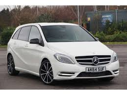 used mercedes b class used 2014 64 reg cirrus white mercedes b class sport for