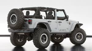 modified white jeep wrangler 2013 jeep wrangler mopar recon concept caricos com