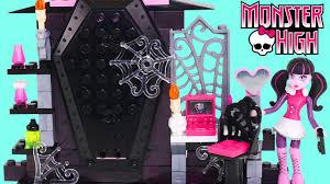monster high lego draculaura u0027s room and cleo de niles vanity mini
