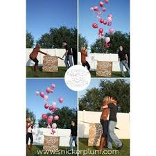 balloons in a box gender reveal gender reveal party balloon box vinyl decal decor want to