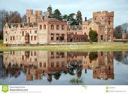 Most Beautiful English Castles English Medieval Castle Royalty Free Stock Photography Image