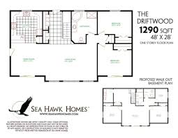 Nice Floor Plans by Ranch Floor Plans With Walkout Basement Ahscgs Com