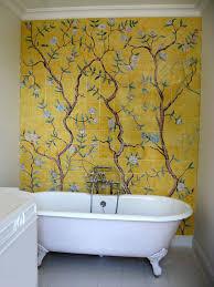 the 25 best bathroom wallpaper ideas on pinterest wall paper