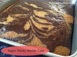 vegan wacky marble cake recipe moist and delicious try the